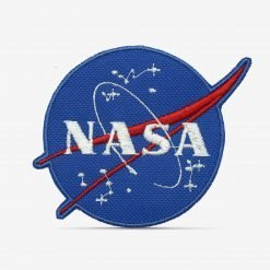 Patch Bordado Logo Nasa com termocolante 8,8x7,4cm da PATCH GANG