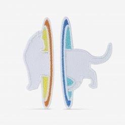 Patch Bordado Gato Portal dimensional em duas partes, com termocolante 8,5x8,8cm da PATCH GANG