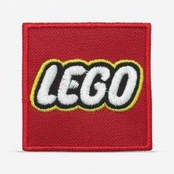 Patch Bordado Logo da Lego, com termocolante 6,1x6,1cm da PATCH GANG