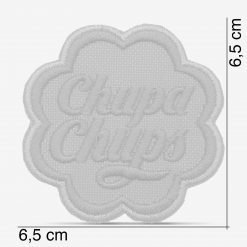 Patch Bordado Logo vintage Chupa Chups com termocolante 6,5x6,5cm da PATCH GANG