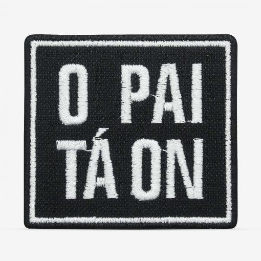 patch bordado adesivo termocolante customização pai tá on