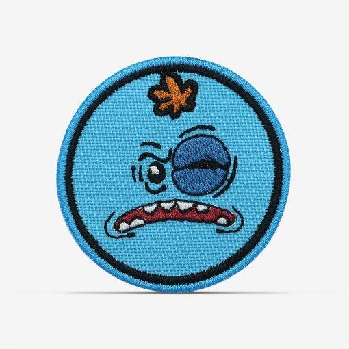 patch bordado adesivo termocolante customização Rick morty meeseeks olho roxo